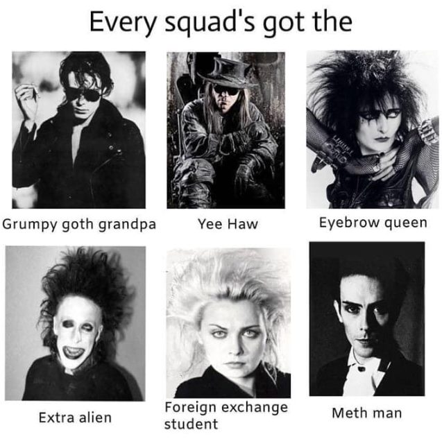 Goth Meme Collection Karol B